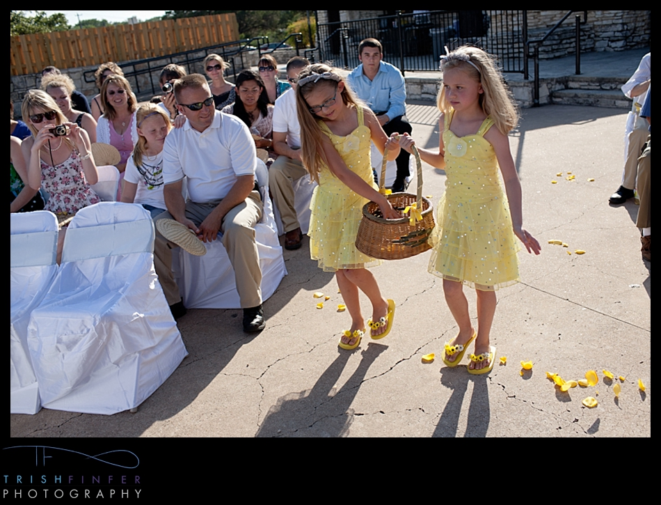 Flowergirls Austin Wedding