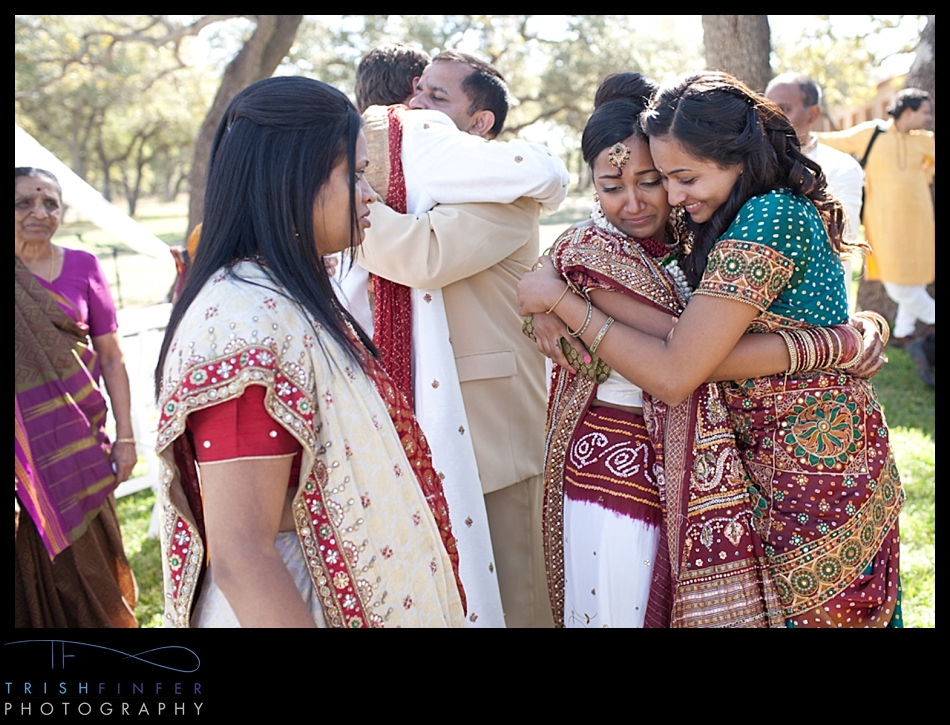 Hindu Bride Crying Family