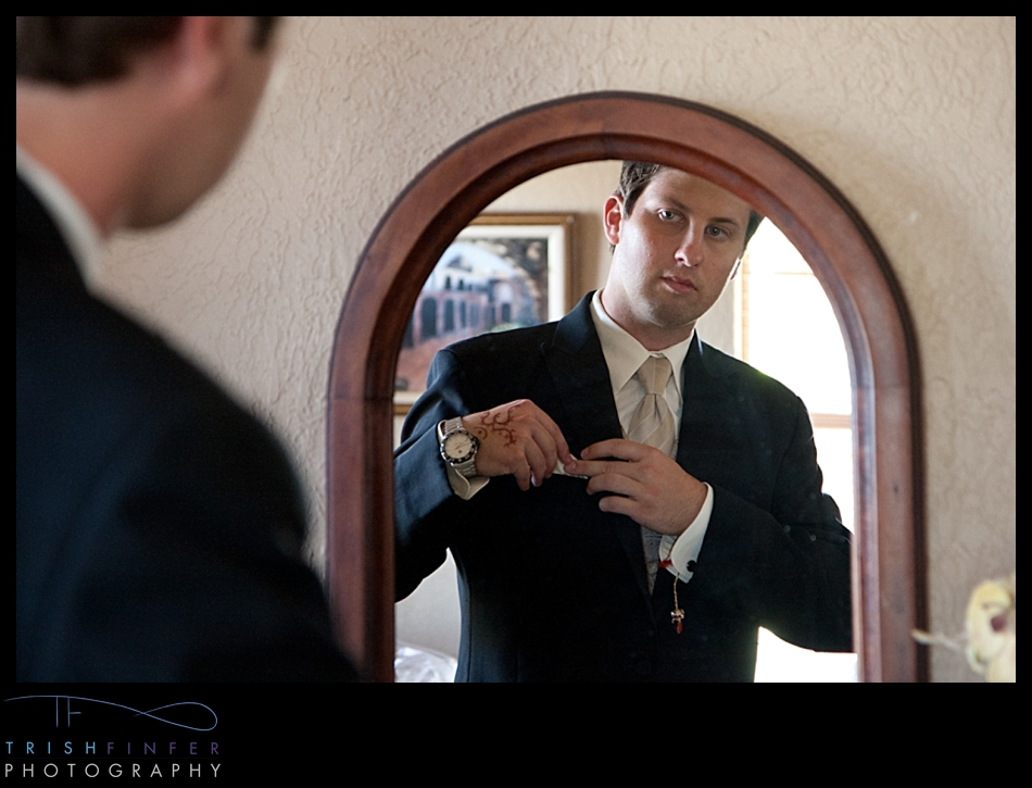 Groom Getting Ready Vows