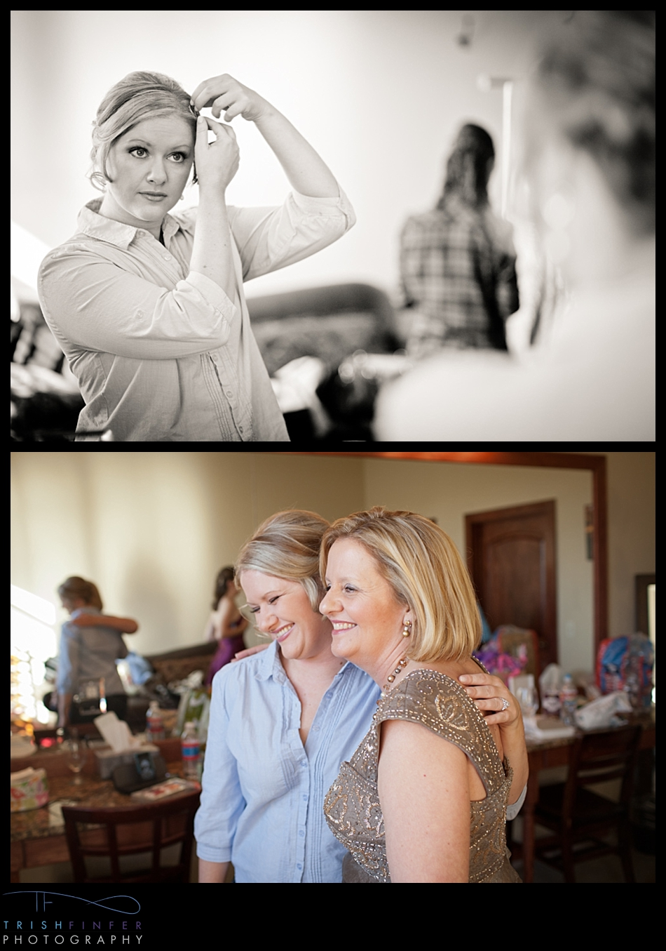 Duchman Family Winery Bride Getting Ready