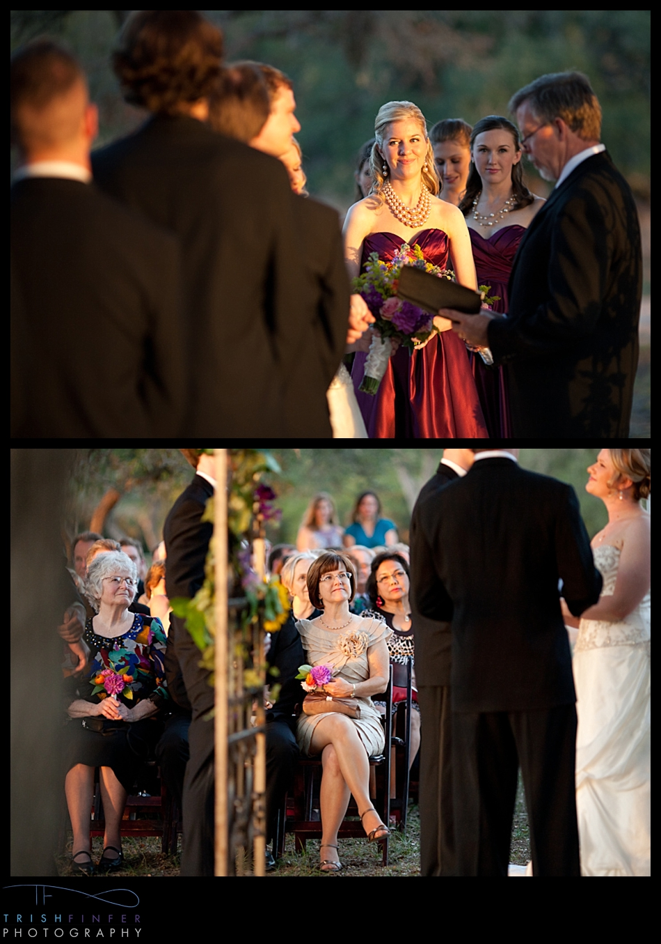 Sunset Winery Wedding Austin Texas