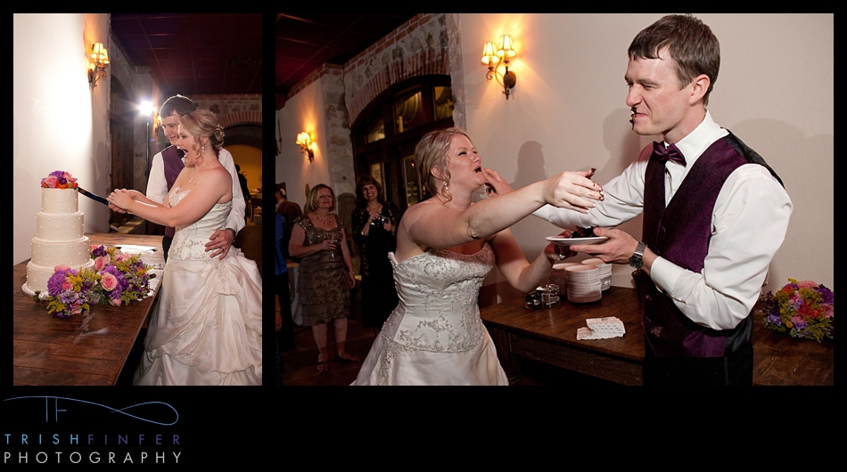 Cake Smash Wedding Austin