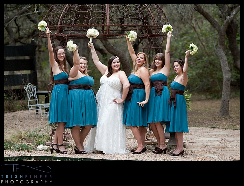 Bridesmaids Bride Wedding Party