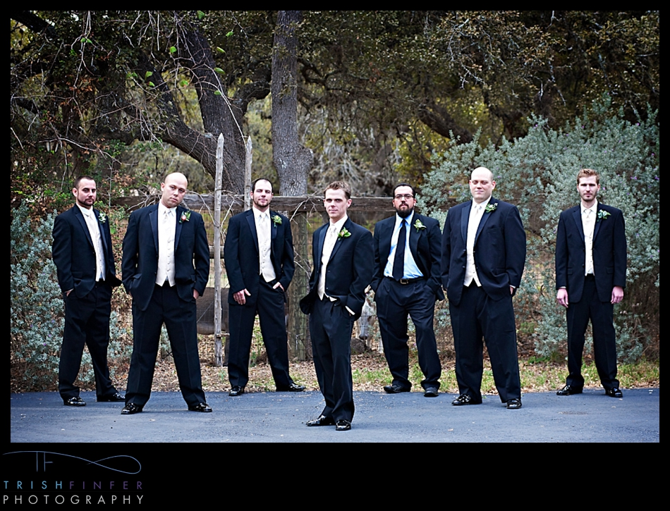 Groom Groomsmen Wedding Party