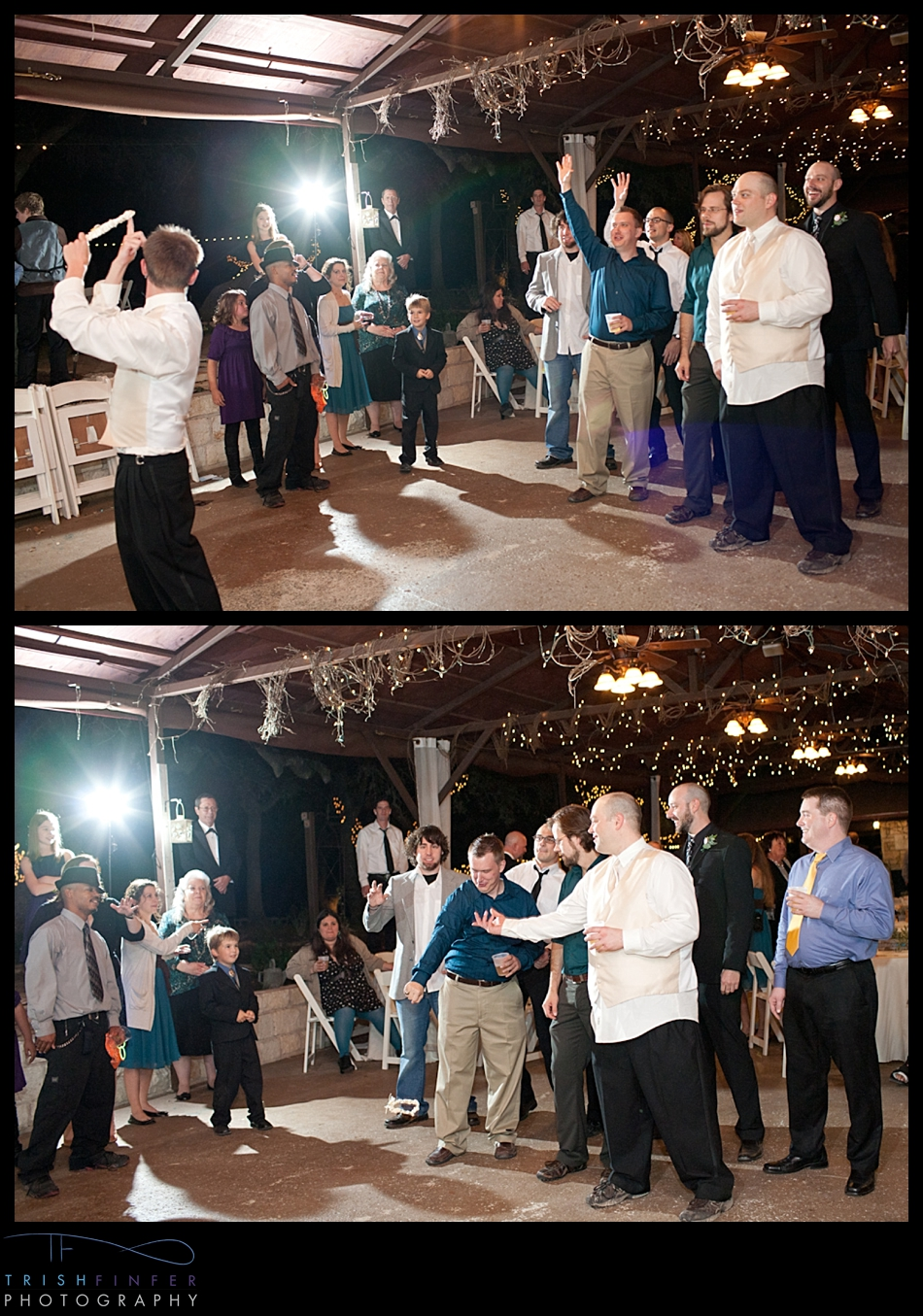 Garter Toss Groom Crazy