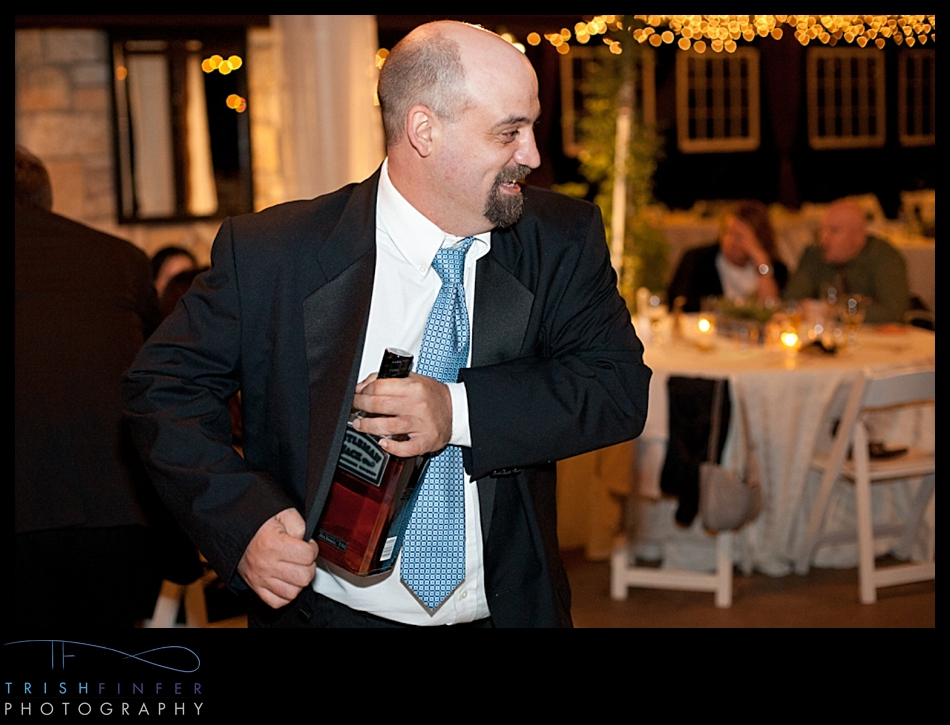 Wedding Guest Stealing Booze Jamison