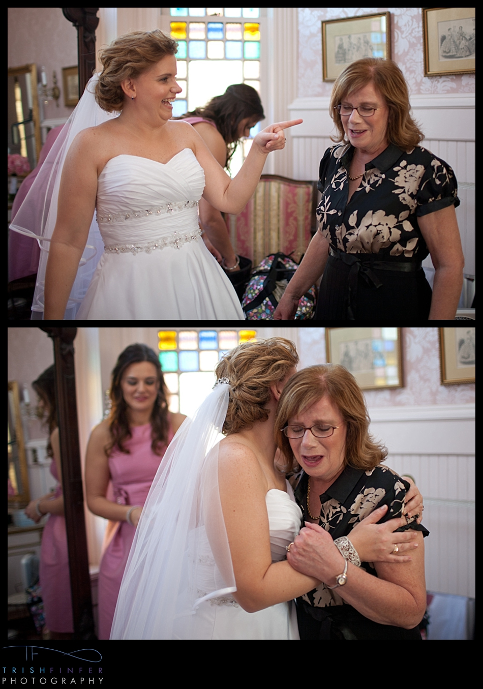 Mother of Bride Crying