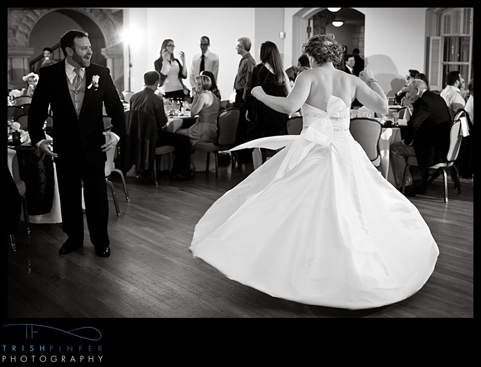 Reception Dancing Bride Spinning