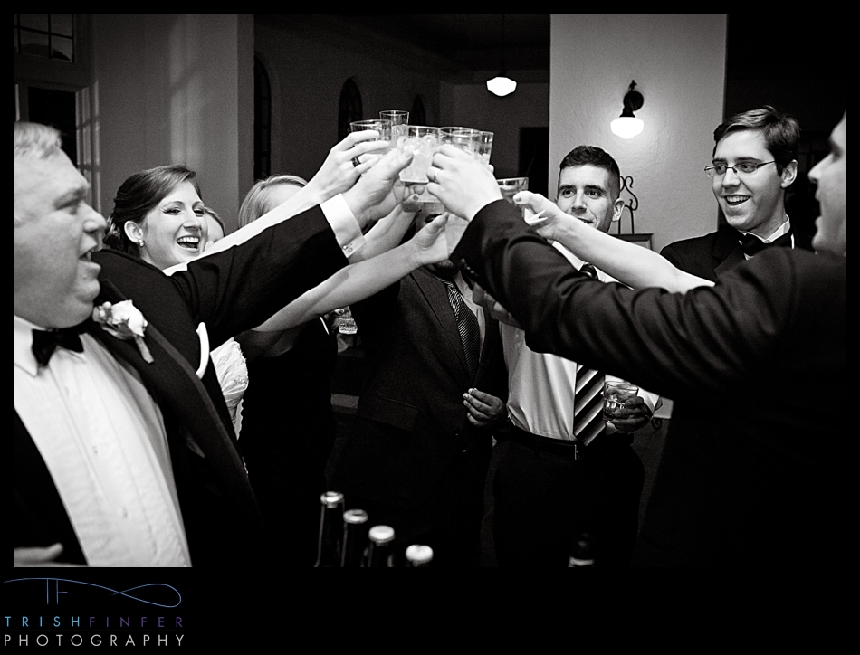 Wedding Group Shots Cheers