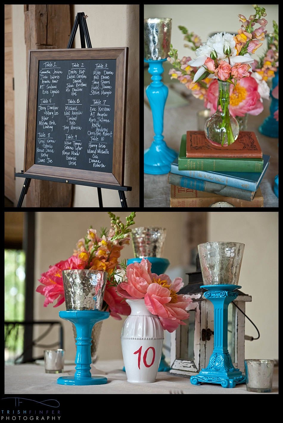 Reception Decoration Table Flowers