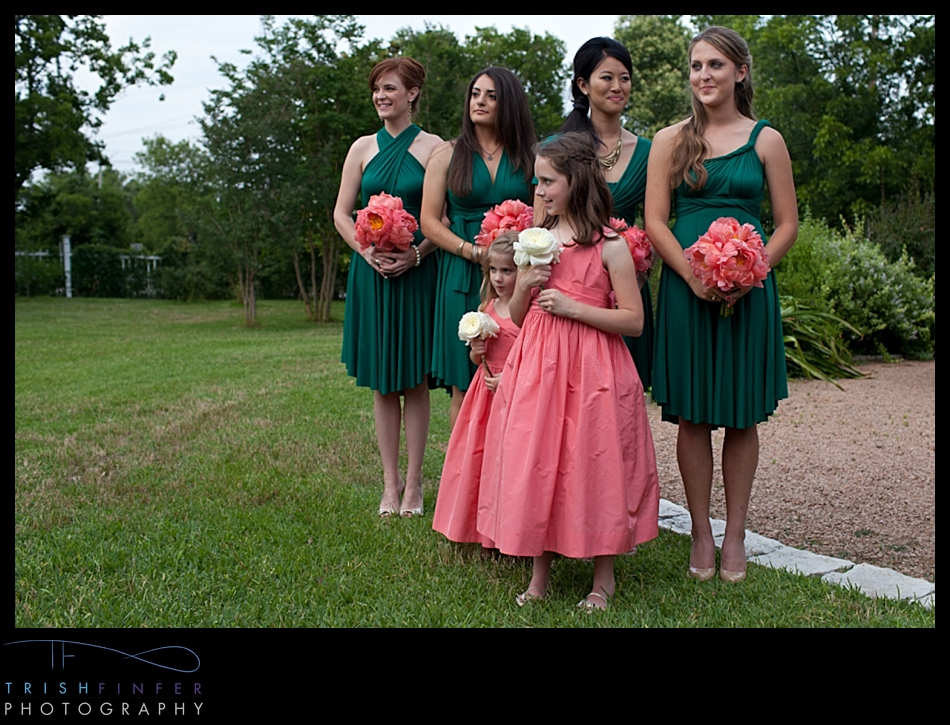 Bridesmaids Reaction Bride Ceremony