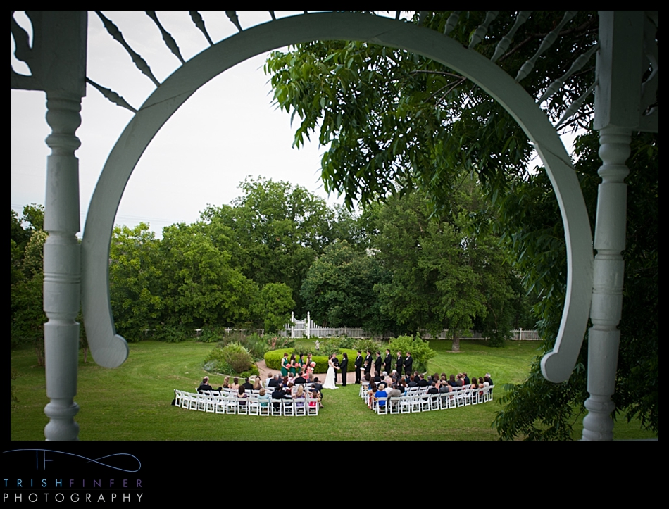 Wedding Ceremony Barr Mansion