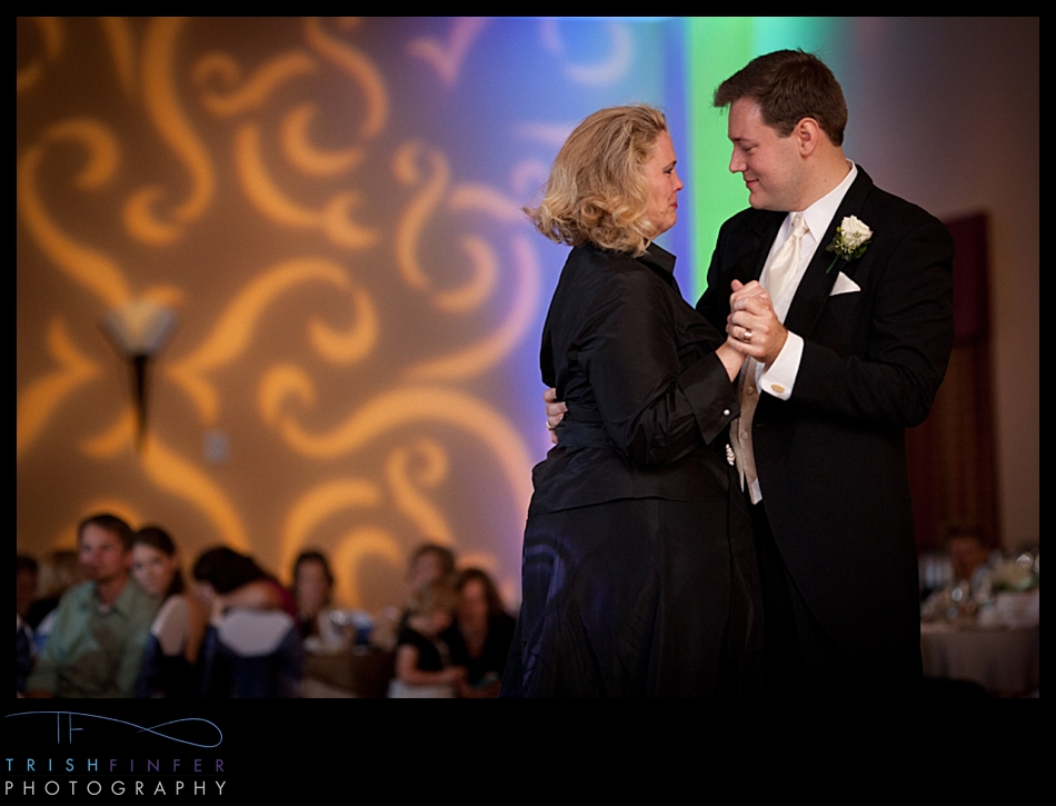 Mother Son Dance Wedding
